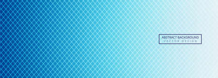 Modern blue geometric lines header template 일러스트