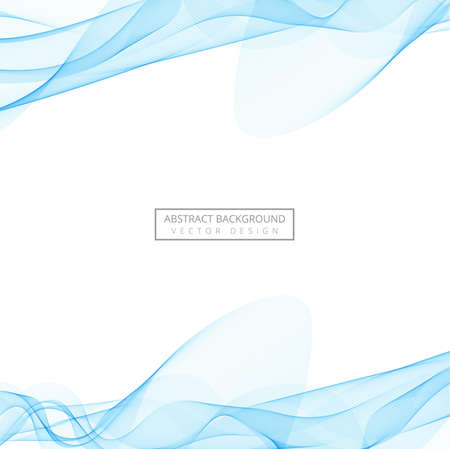 Abstract creative smoke wave background