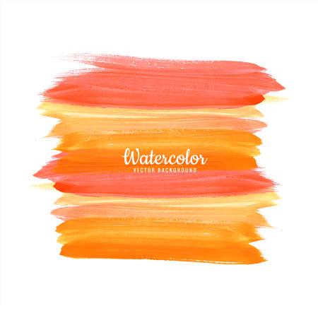 Modern Watercolor Brush Stroke Background