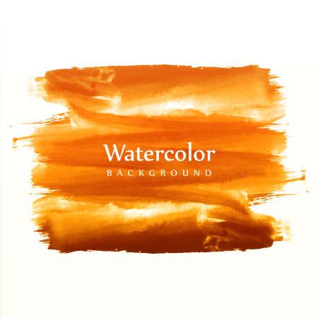 Soft hand draw watercolor brush vector 일러스트