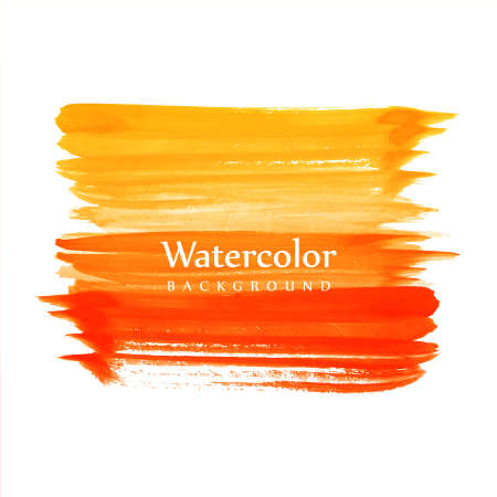 Beautiful watercolor colorful strokes background
