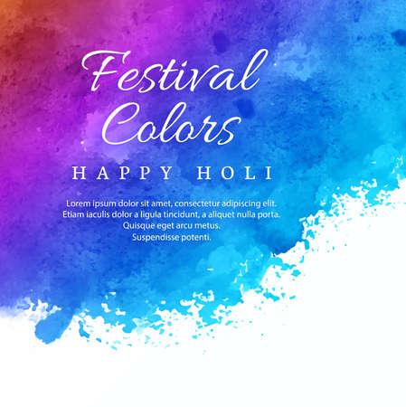 Holi festival colorful celebration background