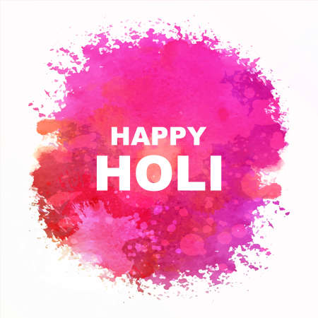 Indian festival Happy Holi celebrations with colors 일러스트