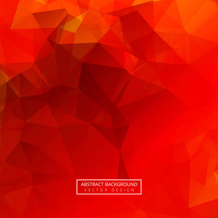Abstract colorful polygon background vector 일러스트