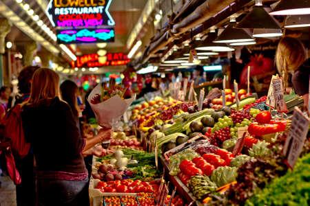 Pike Market in Seattle