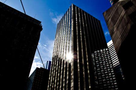 modernization: Sun reflection on Skyscrapper