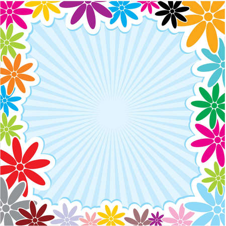Very Useful Decorative Flower Frame Background