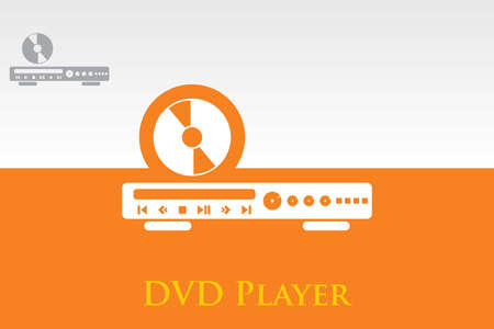 Icon of DVD Player   Vector