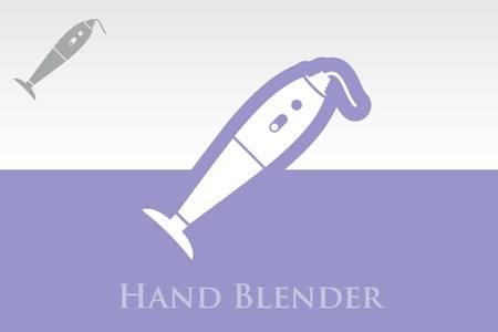 inmersion: Icono de la mano Blender