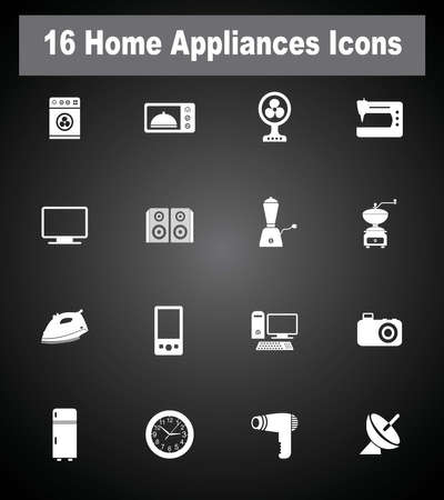 standby: 16 Home Appliances icons