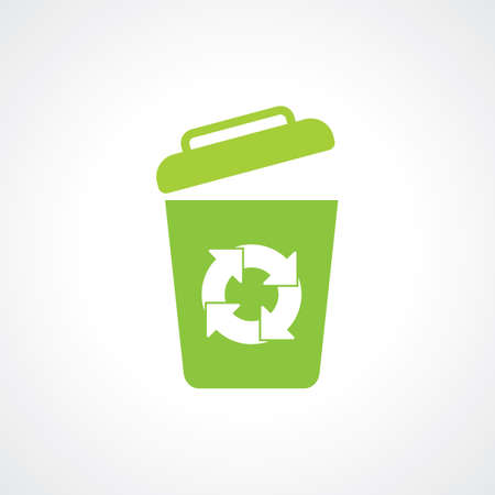 Icon of recycle Bin  garbage can