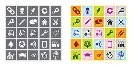 sets of editable vector web icons very useful Vector