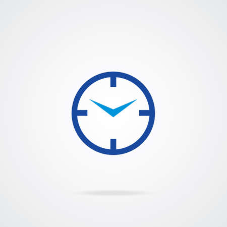 winder: Editable Colourful Vector Icon of clock