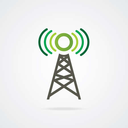 VECTOR Mobile Network TOWER  Illustration