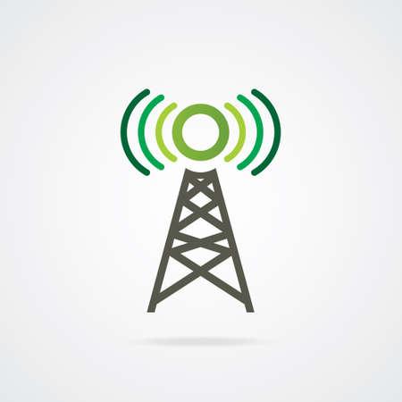 satellite transmitter: VECTOR Mobile Network TOWER  Illustration