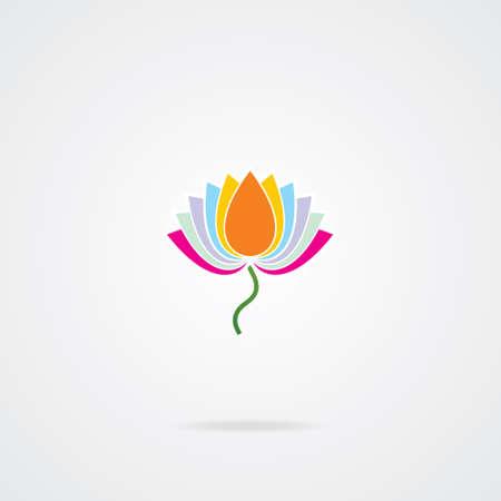 Vector lotus symbols   Vector
