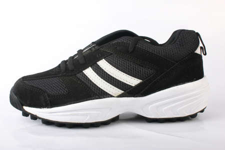 shoestrings: Sports Shoes Stock Photo
