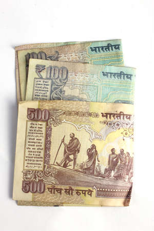 indian currency: Notas de moneda de la India