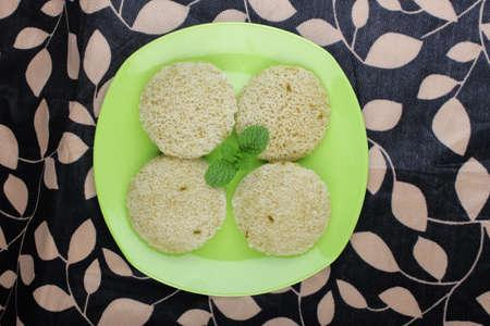 South Indian Food Idly Sambhar photo