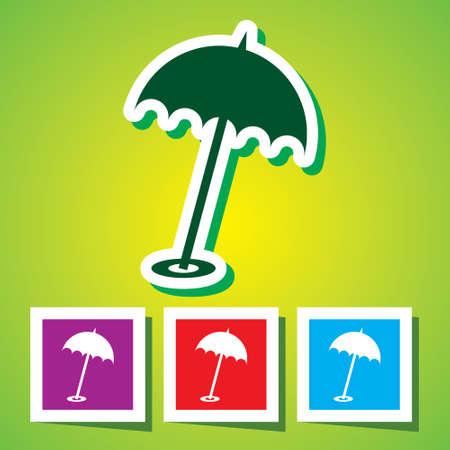 10eps: Beach parasol, 10eps