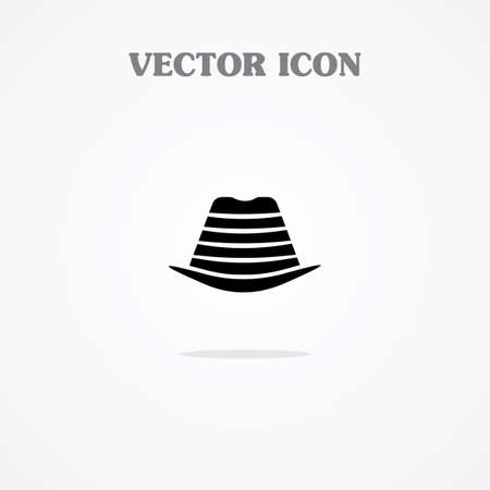 Icon of Hunters Hat.Eps.-10. Vector