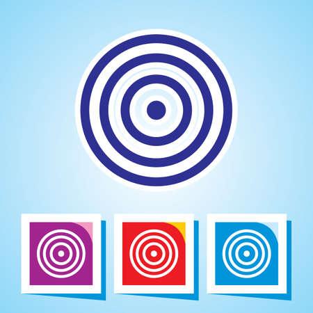 bulls eye: Icon of Bulls eye