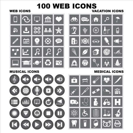 useful: Useful Editable Icons For Web and Mobile. EPS-10