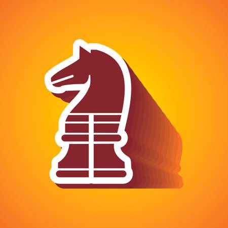 knight on horse: CHESSMEN knight horse