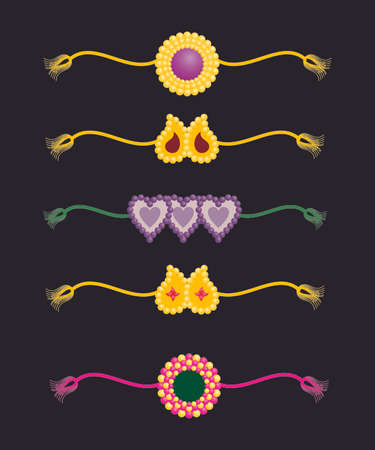 rakshabandhan: Simple & beautiful Hindu rakhi.