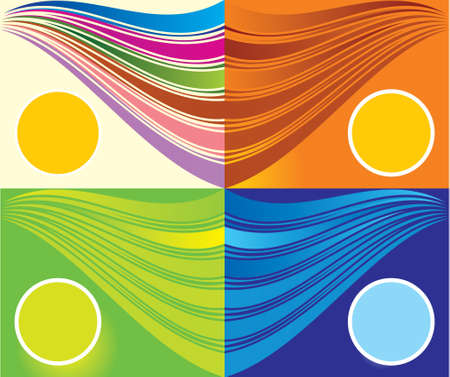 �back ground�: Colourful Abstract back ground. EPS 10 Illustration