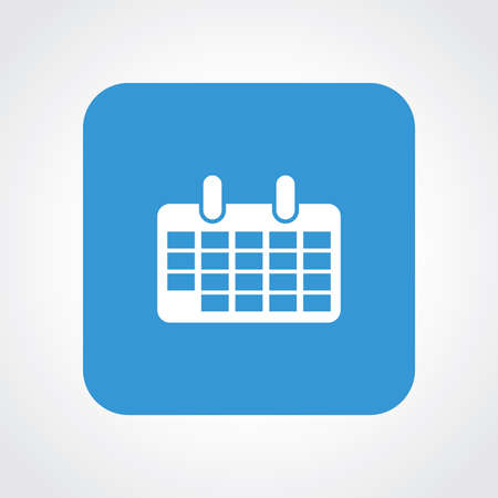 calender icon: Very Useful Flat Icon of Calender. Eps10.