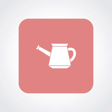 Very Useful Flat Icon of Watering Can. Eps10. Stock Illustratie