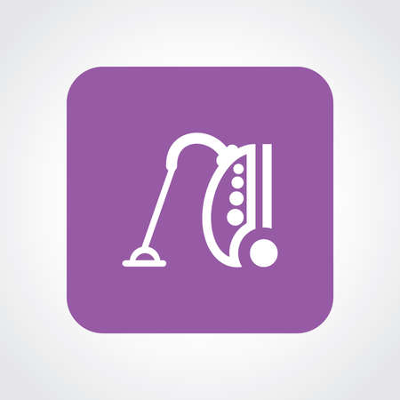 vac: Very Useful Flat Icon of vacuum. Eps10. Illustration