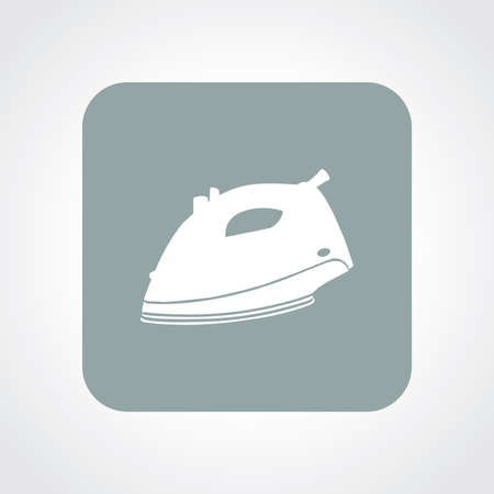 electric iron: Very Useful Flat Icon of Electric Iron. Eps10. Illustration