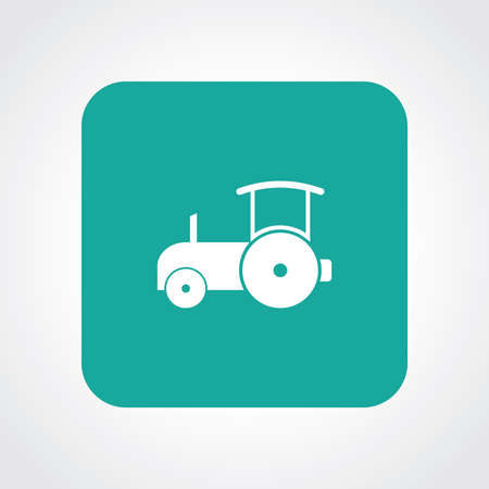 sidelight: Very Useful Flat Icon of Road roller.