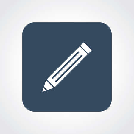 useful: Very Useful Flat Icon of Write pencil.