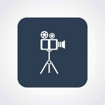 useful: Very Useful Flat Icon of Video .  Illustration