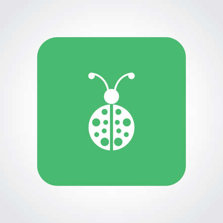 lady bug: Very Useful Flat Icon of Lady Bug. Illustration