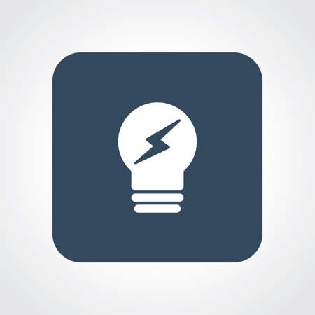 Very Useful Flat Icon of Bulb.