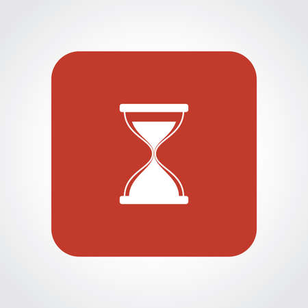 Very Useful Flat Icon of Hour glass. Eps10. Vector