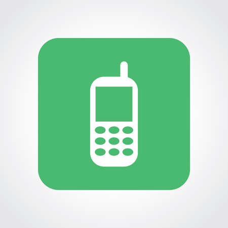 Very Useful Flat Icon of Mobile phone . Eps10. Vector