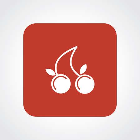 frutos rojos: Icono Piso muy �til de bayas.