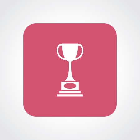 useful: Very Useful Flat Icon of Trophy.