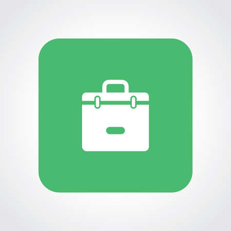 trolley case: Very Useful Flat Icon of Suitcase