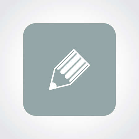 useful: Very Useful Flat Icon of Pencil.