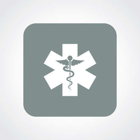 Very Useful Flat Icon of Medical Symbol. Vector