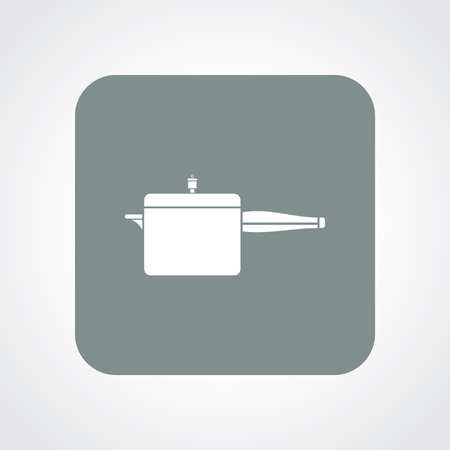 cooker: Very Useful Flat Icon of Cooker. Eps10.