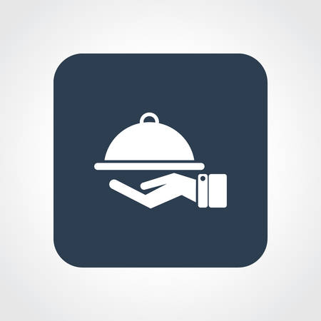 Very Useful Flat Icon of Food Service.