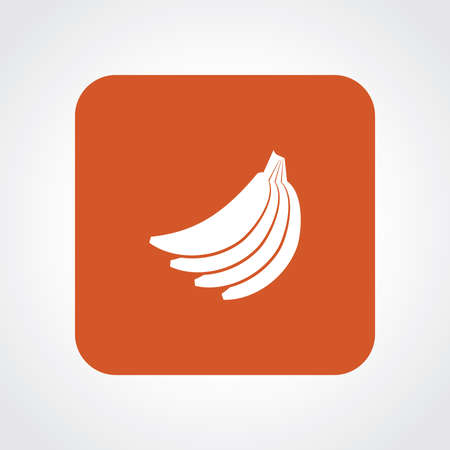 unopened: Very Useful Flat Icon of Banana.