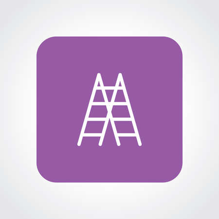 ladder: Flat Icon of ladders Illustration
